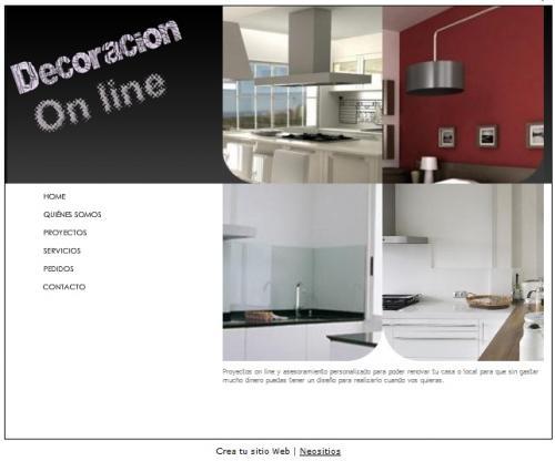 Decoracion on line proyectos asesoramiento materiales arquitectura