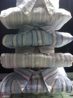 Oferta !!! lote camisas rayadas manga larga a solo $40.-