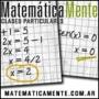 Profesores de matemática | Matemáticamente | Clases particulares