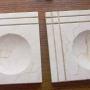 Ceniceros en marmol y granito natural