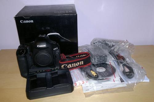 Canon eos 1d mark iii cámara slr