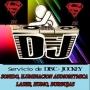 DJ. DISC JOCKEY EN FLORENCIO VARELA Y TODA ZONA SUR