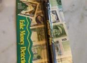 mercaderia para revender detector de billetes falsos