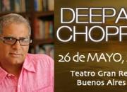 Deepak chopra en argentina 26 de mayo 2011