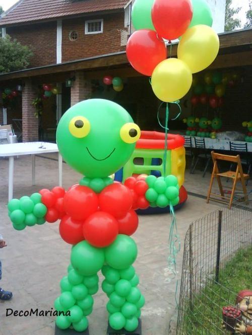Globos con helio - decoracion con globos