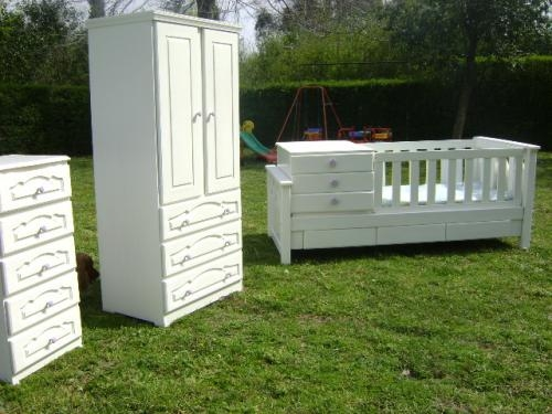 Muebles: casa blanco interiores y exteriores cunas funcionales en ...