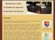 Muebles de Algarrobo de primera calidad | Entregas en Martínez | Zona Norte | Buenos Aires