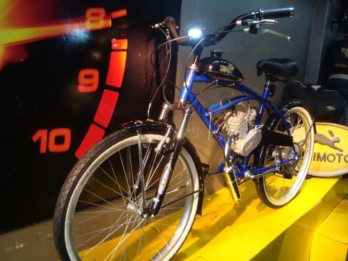 Fotos de Bicimoto 48cc 2 tiempos, bici a motor nitrox mod. classic 1