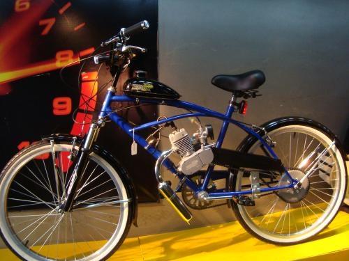 Fotos de Bicimoto 48cc 2 tiempos, bici a motor nitrox mod. classic 2