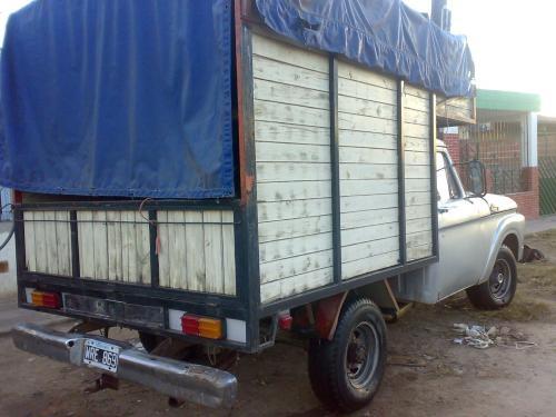 Fotos de Vendo camioneta f-100 gnc 3