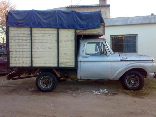 Fotos de Vendo camioneta f-100 gnc 1