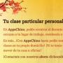 AppsChino: Cursos de chino grupales y clases particulares