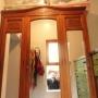 Ropero de roble, antiguo con espejos biselados.
