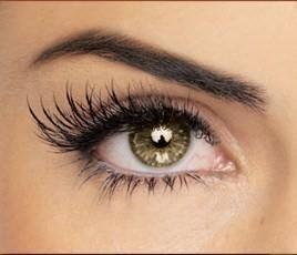 Extensiones de pestañas-colocación pelo natural uno por uno