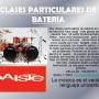 CLASES PARTICULARES DE BATERIA