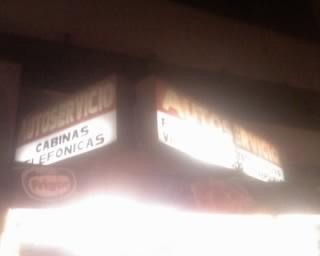 """Cartel luminoso """"back light"""" de lona"""