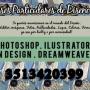 clases particulares de diseño, en photoshop, illustrator, dreamweaver, e in design
