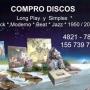 COMPRO DISCOS LP - MUSICA MODERNA - otros - buen estado