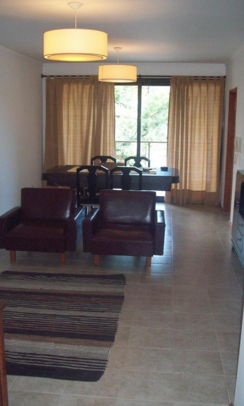 Alquiler temporario - departamento amoblado - 2 dormitorios - santa fe capital