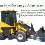 palas cargadoras 4WD, 40hp/50hp