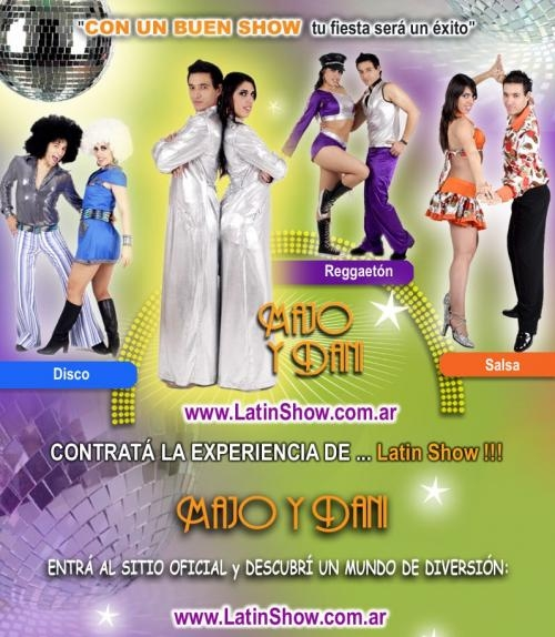 Show para fiestas, show de baile, animacion, juegos, majo y dani, el show mas divertido para tu fiesta! :)