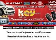 AUTORADIO-CERRAJERIA-ALARMAS (15) 64062547 NEXT 585*1969 OLIVOS