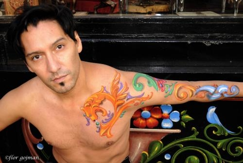 Fotos de Bodypainting,tatuajes temporales,buenos aires, caballito 2