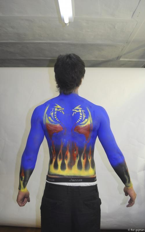 Fotos de Bodypainting,tatuajes temporales,buenos aires, caballito 1