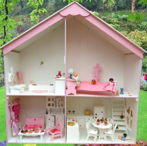 Barbie casa muñecas barbie enorme - casita barbie