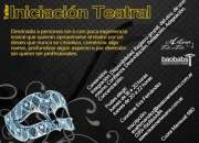 TALLER DE TEATRO - INSCRIPCIONES ABIERTAS!