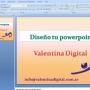 Diseño de presentaciones en powerpoint Valentina Digital
