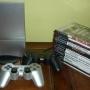 VENDO PLAYSTATION 2 SLIM SILVER, EXCELENTE ESTADO!!! , CASI SIN USO, MUY BIEN CUIDADA