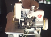 Maquina de coser overlock semi ind. 3 hilos nueva sin uso  ¡
