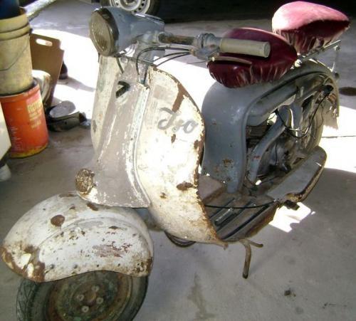 Sport moto: iso milano diva 150 1958 italiana originalisima ideal restaurar o repuestos