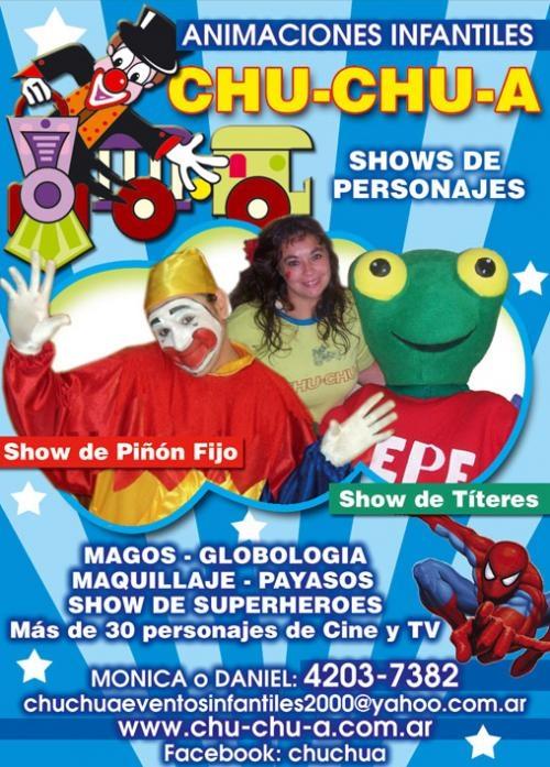Shows para el dia del niño