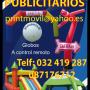 GLOBOS PUBLICITARIOS CON HELIO