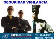 Guardias de seguridad privada vigilancia custodios