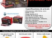 Cargador Arrancador de Baterias Charger 400 (nuevo) Idust. Nacional