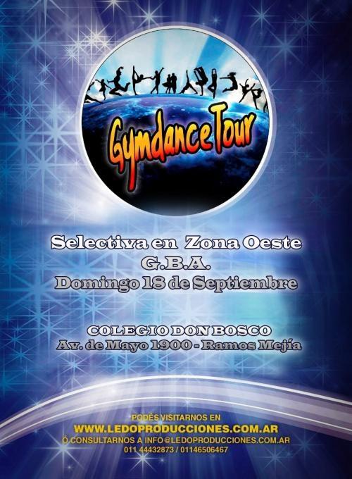 18 de septiembre-torneo nacional de danzas gymdancetour