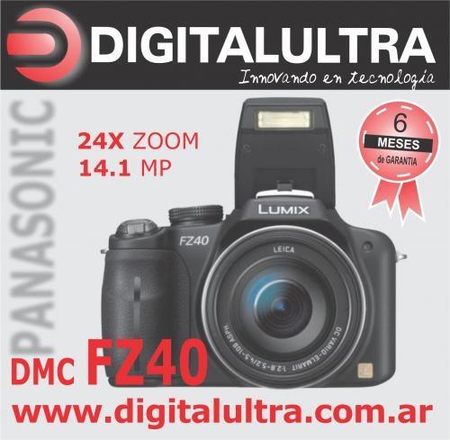 Panasonic lumix fz40 -filma en hd -local martínez
