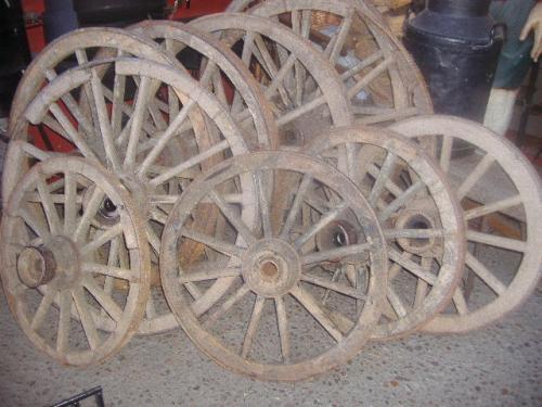 Ruedas de carretas originales
