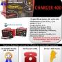Cargador y arrancador de baterias charger 400