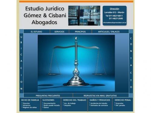 Abogados en morón   abogados laborales en morón   estudio gómez & cisbani abogados   zona oeste
