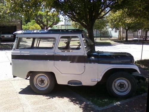 Vendo jeep carrozado