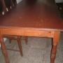 mesa de pino 180 x 80 para 8 personas