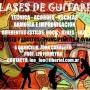 Clases de guitarra - Caballito