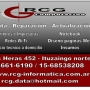 RCG Computacion (Servicio tecnico de Pc a domicilio) oeste