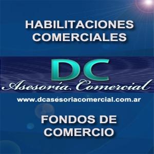 Dc asesoria comercial - fondos de comercio - habilitaciones