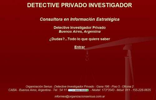 Detective investigador