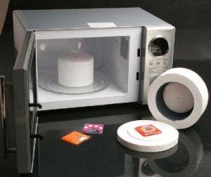 Igloo para vitrofusion en microondas